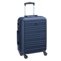 Delsey Carlit 4 Wheel Trolley Cabin Slim 55 Blue