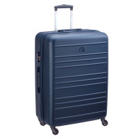 Delsey Carlit 4 Wheel Trolley 76 Navy