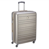 Delsey Carlit 4 Wheel Trolley 76 Brushed Gold
