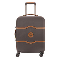 Delsey Chatelet Air Cabin Slim Trolley 4 Wheel 55 Chocolate