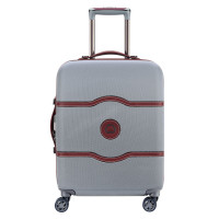 Delsey Chatelet Air Cabin Slim Trolley 4 Wheel 55 Silver