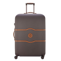 Delsey Chatelet Air Trolley 4 Wheel 77 Chocolate