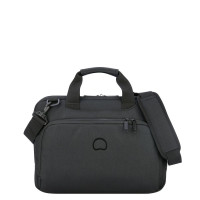 "Delsey Esplanade Laptop Bag 1-CPT 13.3"" Deep Black"