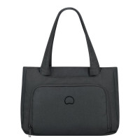 "Delsey Esplanade Business Shopping Bag 14.1"" Deep Black"