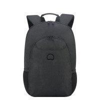 "Delsey Esplanade Laptop Backpack 13.3"" Deep Black"