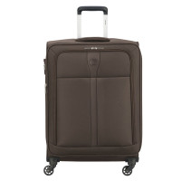 Delsey Maloti Trolley 4 Wheel Exp 68 Brown