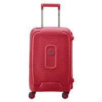 Delsey Moncey Cabin Trolley 4 Wheel 55 Red
