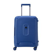 Delsey Moncey 4 Wheel Slim Cabin Trolley 55 Blue