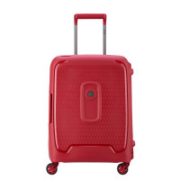 Delsey Moncey Cabin Trolley Slim 4 Wheel 55 Red