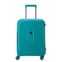 Delsey Moncey 4 Wheel Slim Cabin Trolley 55 Meridian Green