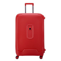 Delsey Moncey 4 Wheel Trolley 76 Star Red