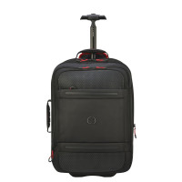 Delsey Montsouris Cabin Backpack Trolley 2-Cpt PC Black