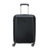 Delsey Pilatus Slim Cabin Trolley Case 4 Wheel 55 Black