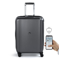 Delsey Pluggage Connected Trolley 4 Wheel 65 Black