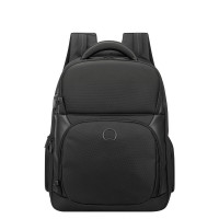 Delsey Quarterback Premium 1-CPT Backpack M 15.6'' Expandable Black