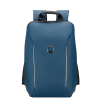 "Delsey Securain 1-Compartment Laptop Backpack 14"" Night Blue"