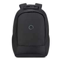 "Delsey Securban 1-Compartment Laptop Backpack 13.3"" Black"
