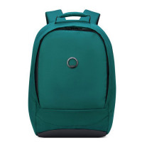 "Delsey Securban 1-Compartment Laptop Backpack 13.3"" Green"