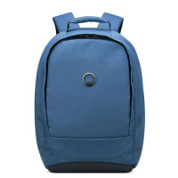 "Delsey Securban 1-Compartment Laptop Backpack 13.3"" Dark Blue"