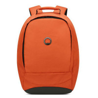 "Delsey Securban 1-Compartment Laptop Backpack 13.3"" Orange"