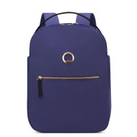 "Delsey Securstyle 1-Compartment Laptop Backpack 13"" Navy"
