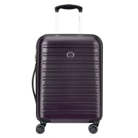 Delsey Segur Slim Cabin Trolley Case 4 Wheel 55 Lilac