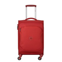 Delsey U-Lite Classic 2 Cabin Trolley Case 4 Wheel 55 Red