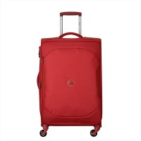 Delsey U-Lite Classic 2 Expandable Trolley Case 4 Wheel 68 Red