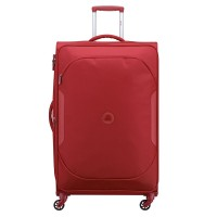 Delsey U-Lite Classic 2 Expandable Trolley Case 4 Wheel 79 Red