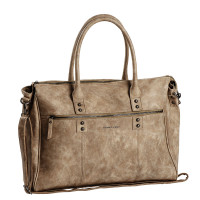 "Daniel Ray Manatee Business Laptoptas 15"" Beige"