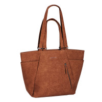 "Daniel Ray Seminole Laptop Schoudertas 15"" Cognac"