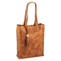 Daniel Ray Miami Shopper Schoudertas Cognac