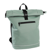 "Daniel Ray Highlands Rolltop Rugtas M Waterproof 15"" Mint Groen"
