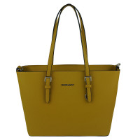 Flora & Co Shoulder Bag Saffiano Yellow