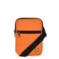 Lyle & Scott Core Mini Messenger Risk Orange