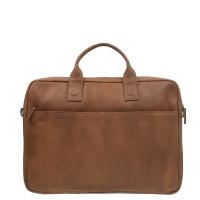 DSTRCT Fletcher Street Working Bag Laptoptas 17'' Cognac