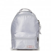 Eastpak Orbit Women Mini Rugtas Satin Silver