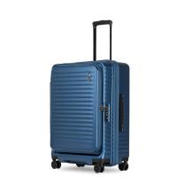 Echolac Celestra Trolley 4 Wheel Medium Blue