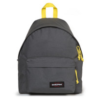 Eastpak Padded Pak'r Rugzak Grey-Yellow