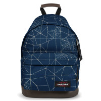 Eastpak Wyoming Rugzak Cracked Blue