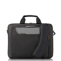 "Everki Advance Laptop Bag Briefcase 14.1"" Black"