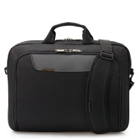 "Everki Advance Laptop Bag Briefcase 18.4"" Black"