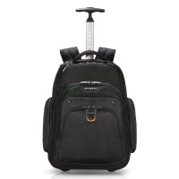 "Everki Atlas Wheeled Laptop Backpack 13-17.3"" Black"