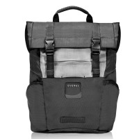 "Everki ContemPRO Roll Top Laptop Backpack 15.6"" Black"