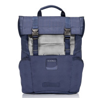 "Everki ContemPRO Roll Top Laptop Backpack 15.6"" Navy"