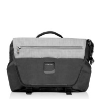"Everki ContemPRO Laptop Bike Messenger 14.1"" MacBook Pro 15"" Black"