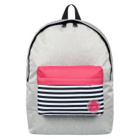 Roxy Sugar Baby Colorblock Backpack Heritage Heather