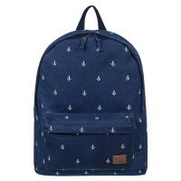 Roxy Sugar Baby Canvas Backpack Dress Blue Printed Anchor