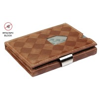 Exentri Wallet met RFID Bescherming Sand Chess