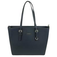 Flora & Co Shoulder Bag Saffiano Blue